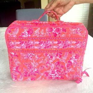 "Vera Bradley ""Pretty in Pink"" Travel Case"